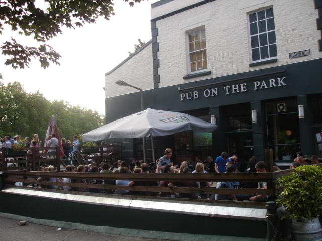 Brockwell Park Lido Cafe Menu